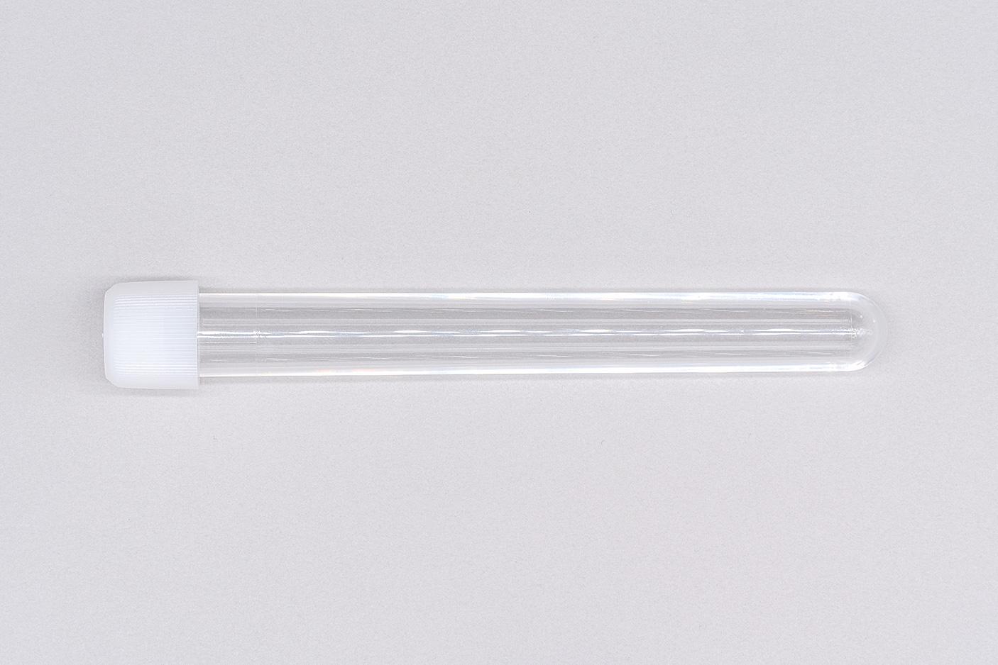 プラスチック 試験管 スクリューキャップ 綿棒移送容器 2