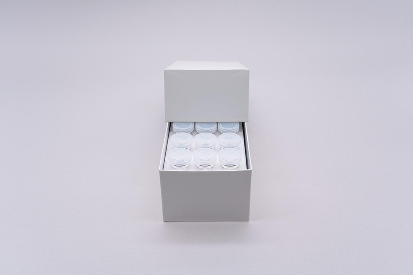 サンプルカップ用 保存 凍結 紙製